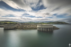 Still Harbour... (fearghal breathnach) Tags: greystones greystonesharbour longexposure seascape harbour view sky clouds motion movement haida nd10