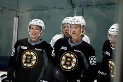 Matt Grzelcyk, Charlie McAvoy, Danton Heinen, and Sean Kuraly (Odie M) Tags: boston wilmington ristucciamemorialarena bostonbruins developmentcamp rookies 2016developmentcamp nhl hockey icehockey teamsport sport mattgrzelcyk charliemcavoy dantonheinen seankuraly