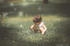 * (G.Mallofret) Tags: light baby verde green sevilla nina hierba doshermanas canon600d mallofret gmallofret