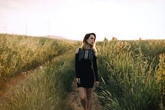 Kristna S. (minu_minu) Tags: girl woman portrait portraiture portret priroda nature summer leto letni sunset gold golden hour sun outdoor field meadow beautiful nice nikon d750 50mm colza