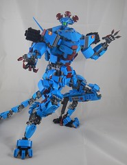 Bring it on (donuts_ftw) Tags: lego mecha mech moc darkazur scifi dracomech
