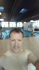 0812161933 (Michael C. Meyer) Tags: revere hotel theater district swimming pool hot humid day cooling down
