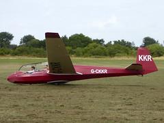 G-CKKR / KKR Schleicher ASK 13 cn 13065 Bicester 09Aug16 (kerrydavidtaylor) Tags: glider sailplane