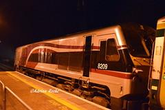 NI Railways GM 8209 In Mallow Station. (Roche B10M VanHool) Tags: ni railways gm 8209 in mallow station
