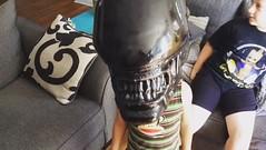 Alien mask (the ghost in you) Tags: halloween ridleyscott horror alien aliens sigourneyweaver