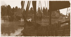 Times Past (Carla Putnam) Tags: ship old oldship antique antiqueship pirateship sepia effect filter fx