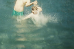 . (LauraKiora) Tags: iyl2016 cinefilm50 cinefilm pool water bllur swimming ella john konicac35 35mmfilm 35mmphotography