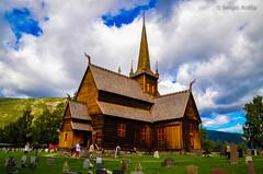 Stavkirke de Lom (Noruega) (serarca) Tags: edificio medieval arquitectura iglesia church madera wood noruega norway lom stavkirke siglo xii antigua