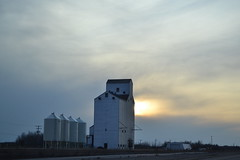 Grain Elevator (jc nadeau) Tags: highway elevator north grain sask battleford yellowhead