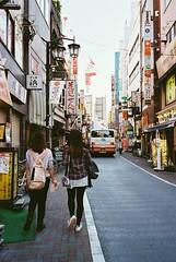 Tokyo (travelingphotobook) Tags: camera morning travel urban film japan 35mm tokyo natura explore  kichijoji classica