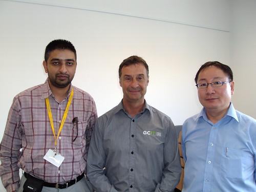 Director Mr.Kang with GCIT Staff, Gold Coast Australia