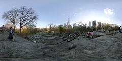 US-NY NYC - Cntl Park Umpire Rock 2015-04-18 6k (N-Blueion) Tags: nyc newyorkcity panorama 360 equirectangular panosphere