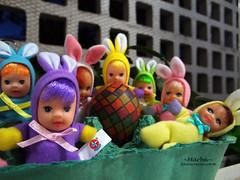 Feliz Páscoa - Happy Easter (~Marba~Furtado~) Tags: rabbit easter dolls estrela páscoa bonequinha coelhinhas fofoletes matchboxdolls beandolls