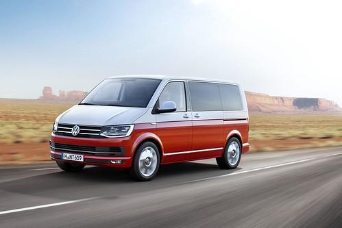 Volkswagen Transporter и Multivan нового поколения