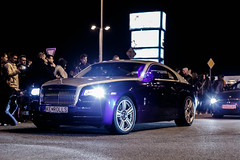 Rolls Royce Wraith // illegal night Košice (Luky Rych) Tags: cars night meeting illegal tuning stance kosice