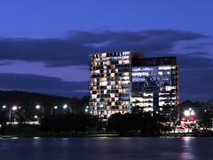 Nishi Building (openyourap) Tags: architecture australia civic canberra act acton nishi newacton