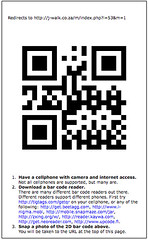 j-walk automagically generated QR-code