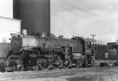 CB&Q 4-6-2 Class S-3 2961 (Chuck Zeiler) Tags: cbq 462 class s3 2961 burlington railroad locomotive chuck zeiler
