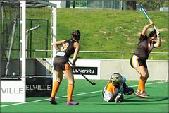 Premier 2 women UWA vs VPXHC_ (81) (Chris J. Bartle) Tags: park 2 3 hockey club university stadium australia victoria womens perth western wa vic uni xavier premier may2 uwa 2015 vpxhc