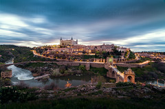 Toledo (Daniel Vie fotografia) Tags: madrid street old city travel roof sunset panorama house building tower castle heritage history tourism stone architecture facade landscape town spain ancient europe mediterranean european day view cathedral outdoor traditional famous hill capital culture landmark scene palace panoramic lookout medieval unesco spanish toledo national alcazar destination local past parador fortified
