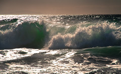 Wave (nastaq) Tags: ocean blue ireland sea storm beach nature water weather bay big high europe silent turquoise dingle wave windy stormy lonely peninsula swell