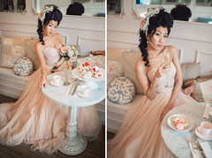 Marie Antoinette Inspired Bridal Session