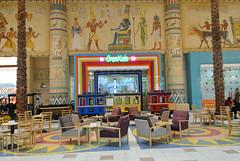 CreaKids (Francisco Anzola) Tags: mall shopping dubai uae egypt kitsch ibnbattuta tables unitedarabemirates charis