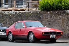 Saab Sonett III (<p&p>photo) Tags: auto red classic car classiccar fuji sweden iii swedish 70s vehicle fujifilm motor 1970s 1972 saab sonett motorcar saabsonett fujix worldcars saabsonettiii ril6267