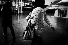 no.882 (lee jin woo (Republic of Korea)) Tags: street shadow blackandwhite bw self subway mono photographer hand snapshot korea snap gr ricoh