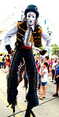 2016 stilt walkers, Fest International, Lafayette, Apr 24-7174 (cajunzydecophotos) Tags: lafayette stiltwalkers 2016 festivalinternationaldelouisiane
