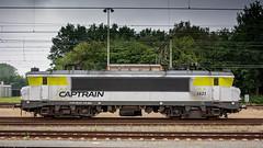 Captrain 1621 shunting at Roosendaal (Nicky Boogaard) Tags: ns siemens db cargo alstom 189 bombardier roosendaal cartrain class66 1621 g2000 zwijndrecht locon containertrain vossloh es64f4 captrain