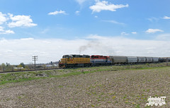 LLPX 2236 (Ramblings From The 4th Concession) Tags: freighttrains gp382 emdlocomotives gexr guelphsub geneseewyoming llpx2236 leasedlocomotives panasonicfz1000