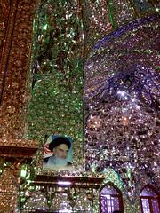 Khomeini into stars (Marco Guada) Tags: iran mosque khomeini