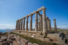 Temple of Poseidon, Cape Sounion, Greece (gsz) Tags: greece ancientgreece capesounion templeofposeidon