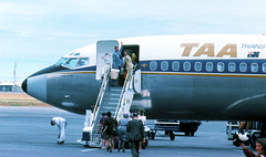 Boarding Jet (digifotovet) Tags: family mom dad aircraft australia airlines taa continents jetairliners