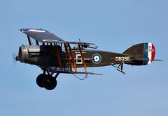 Bristol Fighter (Bernie Condon) Tags: uk plane vintage bristol flying fighter beds aircraft aviation military airshow planes preserved ww1 shuttleworth raf warplane rfc airdisplay 2016 oldwarden brisfit