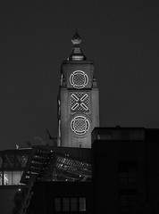 OXO Tower in Black and White (alsib) Tags: nightphotography london oxotower londonskyline