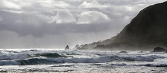 as long as I know that you know (keith midson) Tags: ocean sea wild seascape clouds coast waves hill stormy tasmania coastline oceans westcoast trialharbour remine