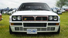 Lancia Delta HF Integrale (Eric Flexyourhead (shoulder injury, slow)) Tags: white canada car zeiss italian bc britishcolumbia delta northvancouver 169 lancia waterfrontpark shallowdepthoffield hf 2016 integrale lanciadeltahfintegrale 55mmf18 italianfrenchcarbikefestival sonyalphaa7 zeisssonnartfe55mmf18za