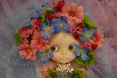 Blythe Floral Fantasy... (Primrose Princess) Tags: flowers ballet fairytale flora ballerina doll princess kingdom blythe tulle takara tutu springtime enchantedforest blythedoll floralfantasy princessoftheforest blythefairytales