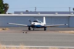 Private Mooney M-20J N201QR (jbp274) Tags: airport airplanes mooney fullerton ful m20 kful
