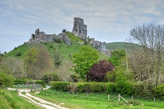Corfe Castle (Tilney Gardner) Tags: landscape nikon dorset hdr corfecastle purbecks photomatix