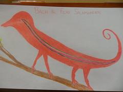 Bach the Fire Salamander (clubsummerlands) Tags: holiday birds animal for general bach rights hollywood movies escher lizards bahhumbug aspca godel audiences pg13 rango abusivesecretionaries rango2