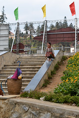 DSC_0014 (SleepingSeasons) Tags: travel playing girl children 50mm prime nikon asia child 14 steps streetphotography slide vietnam bannister sapa ethnicminority travelphotography d610