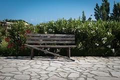 Broken Bench (Number Johnny 5) Tags: broken bench outdoors nikon decay empty greece d750 tamron corfu deserted sidari 2016 2470mm