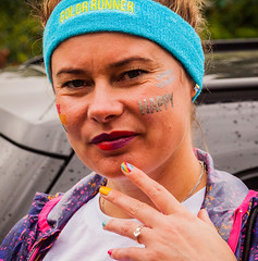 Happy from Walthamstow heading to The Color Run London 2016-5.jpg (Dave Anteh) Tags: colourmehappy the color run walthamstow running runner colour happy london croydon