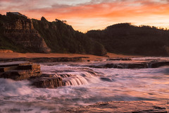 Turra Falls (JimScottAU) Tags: seascape water flow rocks au australia newsouthwales warriewood