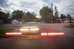 (a409will) Tags: railroad car train twilight crossing motionblur