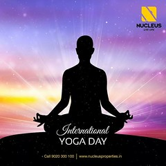 """Yoga is like music, The rhythm of the body, the melody of the mind and the harmony of the soul creates the symphony of life. """" Wishing you all a very happy #InternationalYogaDay.  #Kerala #Kochi #India #Yoga #Architecture #Home #Construction #City #Elega (nucleusproperties) Tags: life city india building home nature beautiful beauty yoga architecture design living construction realestate view apartment interior gorgeous lifestyle style atmosphere kerala environment elegant exquisite comfort luxury kochi elegance internationalyogaday"""