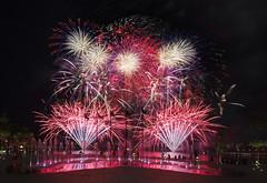 NDP 2016 Combined Rehearsal 1 - Fireworks, Singapore (gintks) Tags: singapore fireworks cityscapes celebration colourful burst singapur 2016 kallangriver exploresingapore singaporetourismboard singaporesportshub kallangwave yoursingapore gintks gintaygintks nationaldayparade2016